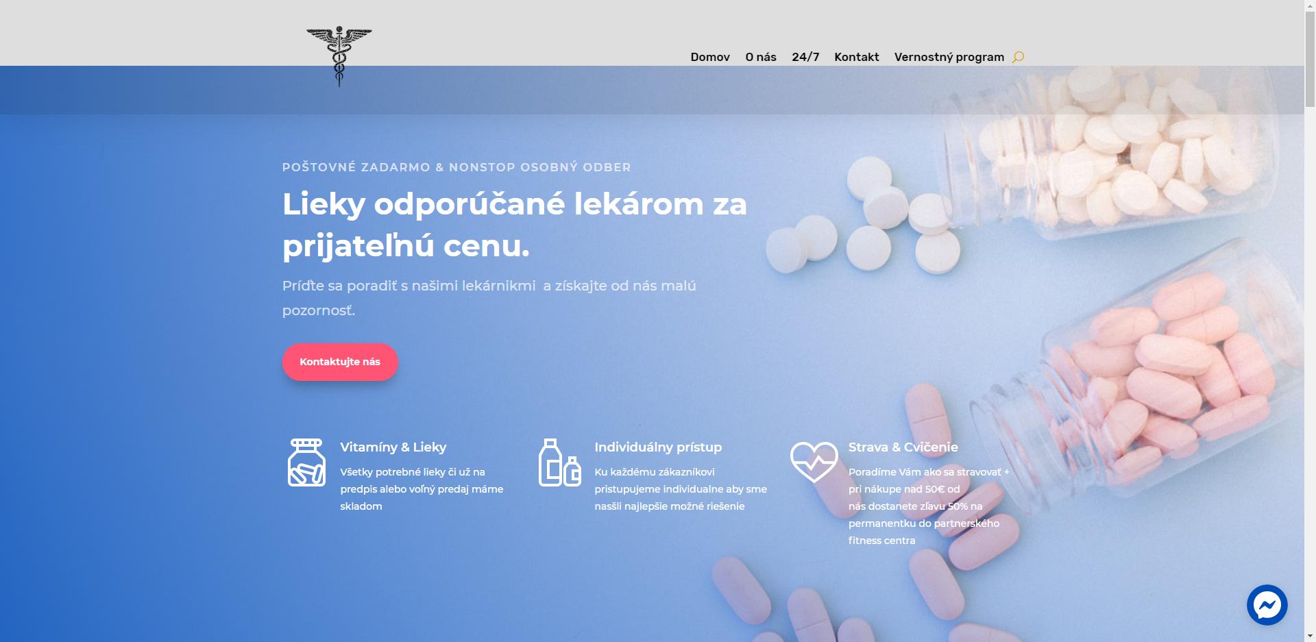 Zdravotníctvo – lekáreň