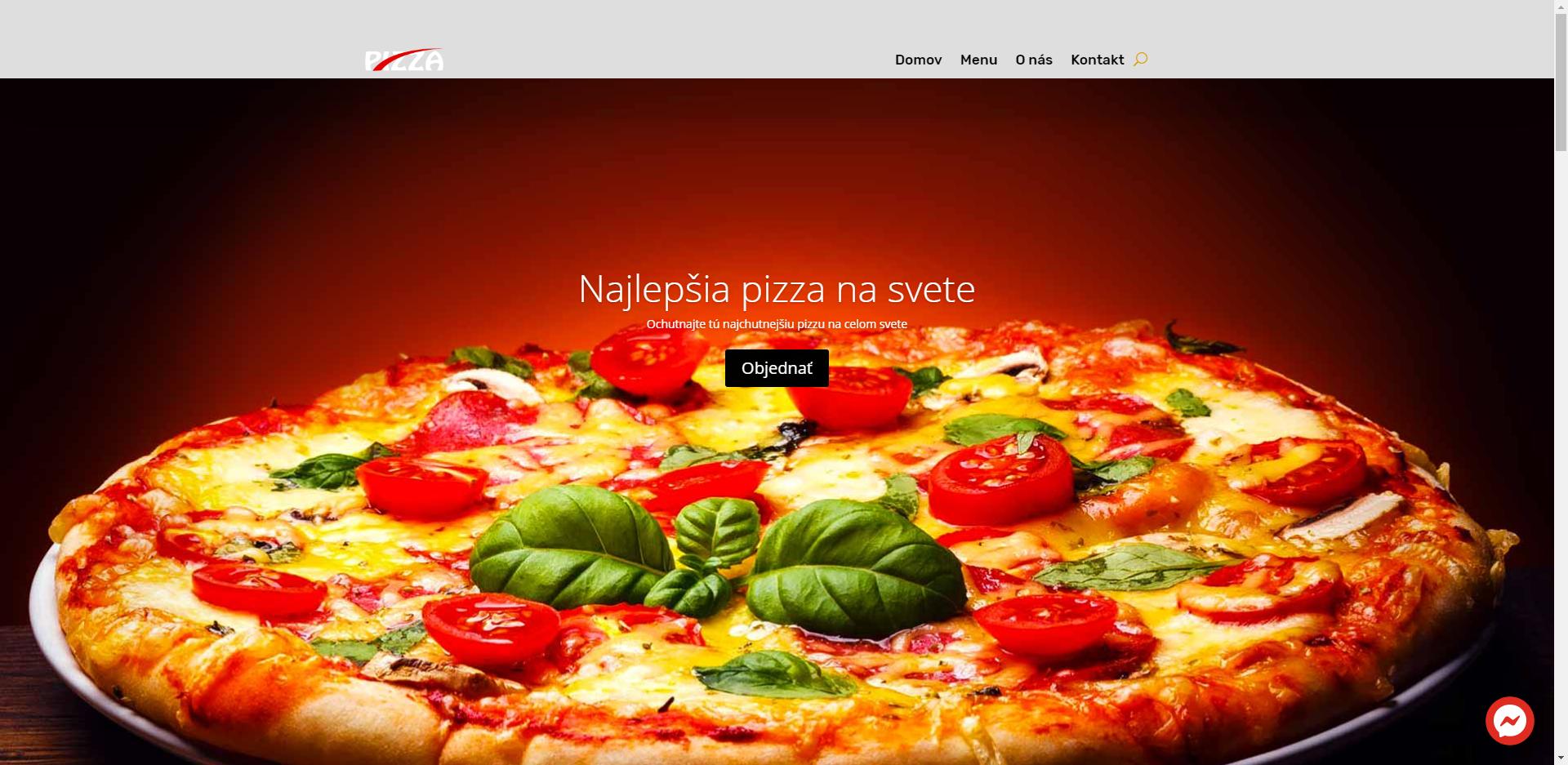 Obchod – pizzéria