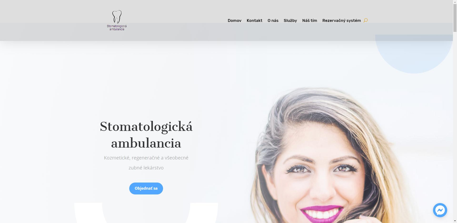 Zdravotníctvo – Stomatológia